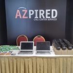 Azpired Inc. booth at the Exhibition Hall