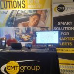 CMT Group booth at the Exhibition Hall